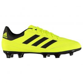 adidas Goletto FG Childrens Football Boots SolYellow/Black