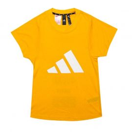 Adidas Junior Girls The Pack T-Shirt Gold