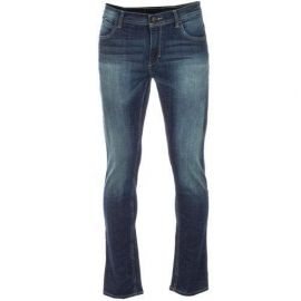 Adidas Mens Slim Fit Jeans Denim