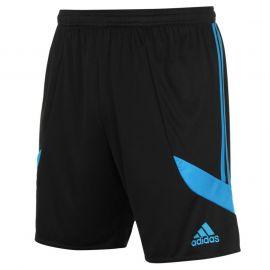 adidas Nova 14 Short Mens Black/Sol Blue