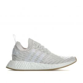 Adidas Originals Womens NMD_R2 Primeknit Trainers White