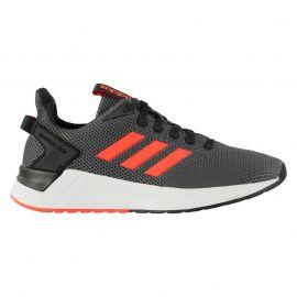 adidas Questar Ride Shoe Mens Carbon/SolarRed