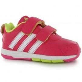 adidas Snice CF Infant Girls Trainers BahiaPink/Wht