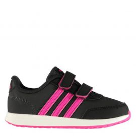 adidas Switch Girls Trainers DkGrey/ShockPin