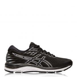 Asics Gel Cumulus 21 Ladies Running Shoes Black/White