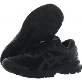 Asics Gel Kayano 25 Ladies Running Shoes Black/Black