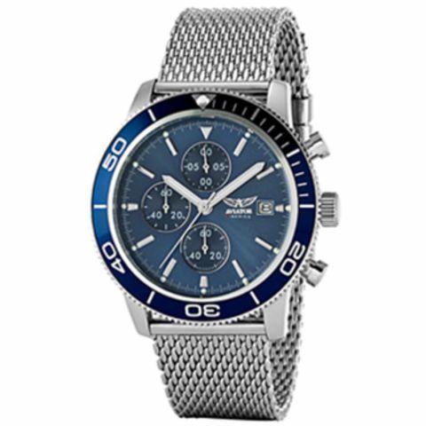 Aviator Watch AVW2070G302 Silver