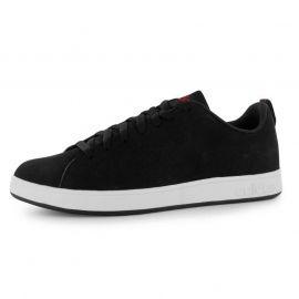 Boty adidas Advantage Clean Nubuck Mens Trainers Black/White