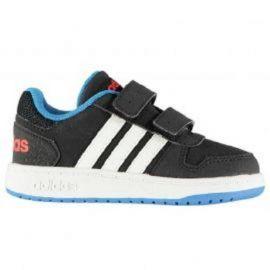 Boty adidas Hoops CMF Trainers Infant Boys Black/Wht/Blue