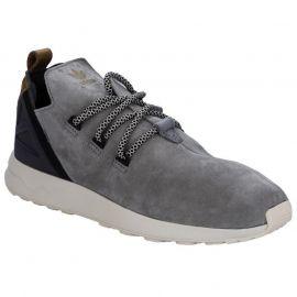 Boty Adidas Originals Mens ZX Flux Adv X Trainers Light Grey