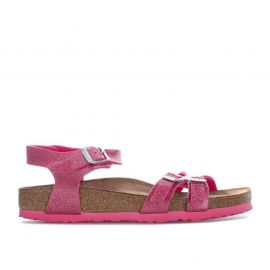 Boty Birkenstock Womens Kumba Soft Footbed Sandals Narrow Rose