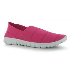 Boty Fabric Enemy Slip On Shoes Fuchsia