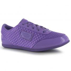 Boty Firetrap Dr Domello Ladies Trainers Purple