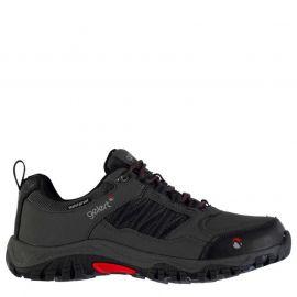 Boty Gelert Horizon Low Waterproof Mens Walking Shoes Charcoal