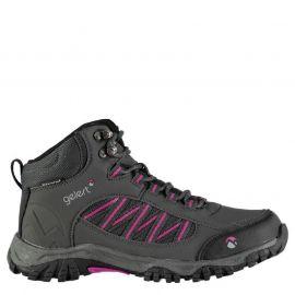 Boty Gelert Horizon Mid Waterproof Ladies Walking Boots Charcoal