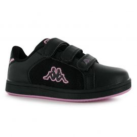 Boty Kappa Nulent 4 Trainers Child Boys Black/Pink