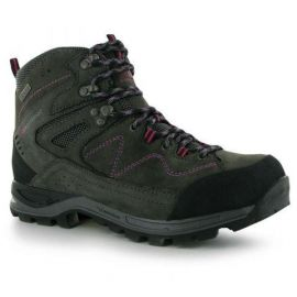 Boty Karrimor Hot Earth Ladies Walking Boots Grey/Berry