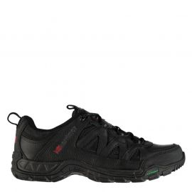 Boty Karrimor Summit Mens Leather Walking Shoes Black