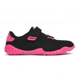 Boty Lonsdale Fulham trainers child Black/Cerise