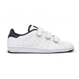 Boty Lonsdale Leyton Childrens Trainers White/Navy