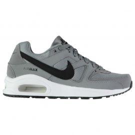 Boty Nike Air Max Command Trainers Junior Boys Grey/Black
