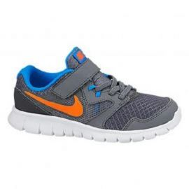 Boty Nike Flex Experience Kids Running Shoes Grey/Orng/Blue