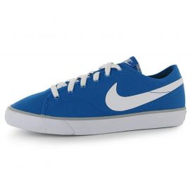 Boty Nike Primo Canvas Lo Mens Trainers Blue/White