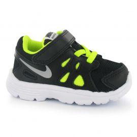 Boty Nike Revolution 2 Infant Trainers Black/Grey/Volt