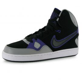 Boty Nike Son of Force Hi Top Trainers Mens Black/Blk/Wht