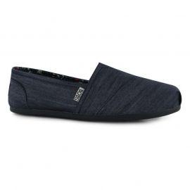 Boty Skechers Bobs Plush Ladies Shoes Denim