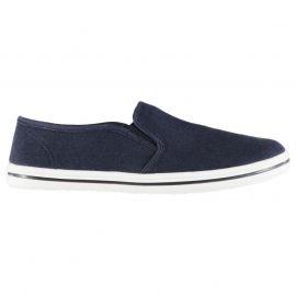 Boty Slazenger Junior Canvas Slip On Shoes Navy