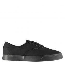 Boty SoulCal Sunset Lace Mens Canvas Shoes Black/Black