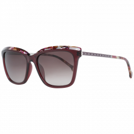 Carolina Herrera Sunglasses SHE689 0V01 54 Burgundy