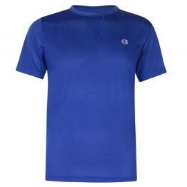 Champion Mesh T Shirt Royal