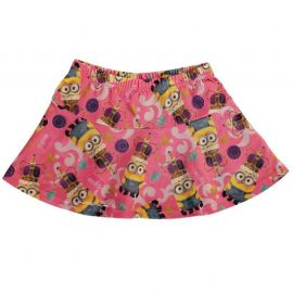 Character All Over Print Skirt Minions