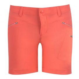 Columbia Peak Shorts Ladies Red Coral