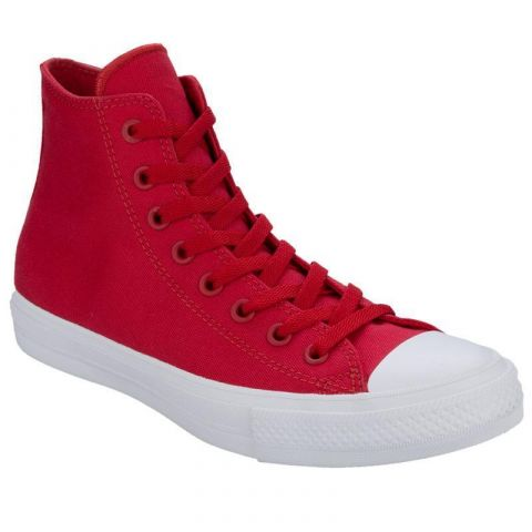 Converse Mens Chuck Taylor 2 HI Trainers Red