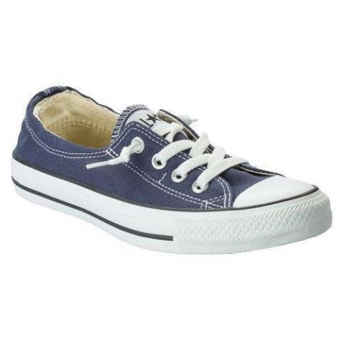 Converse Womens CT Shoreline Slip Trainers Navy