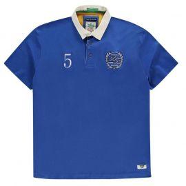 D555 Judd Rugby Short Sleeve Shirt Mens Navy