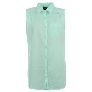 Dámská košile Golddigga S/Less -světle zelená