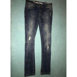 Dámské džíny slim modrá