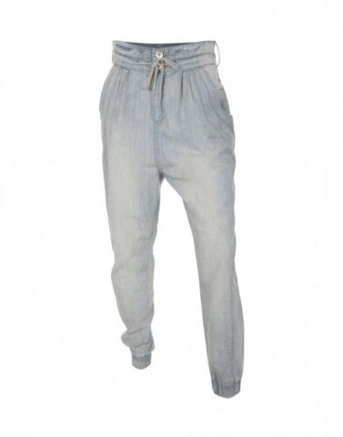 Dámské riflové kalhoty Bench Světle modré