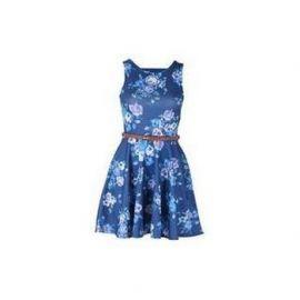 Dámské šaty Soul Cal Deluxe Tapestry - Modré
