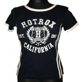 Dámské tričko s krátkým rukávem Hotrox California 1961 tmavě modrá