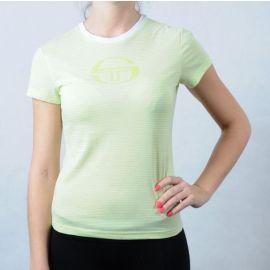 Dámské triko Sergio Tacchini zelená/bílá