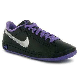 Dětské sportovní boty Nike Main - černo/fialové