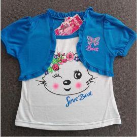 Dětské triko  modrá