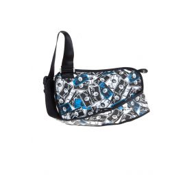 DIESEL Shoulder bag NERO