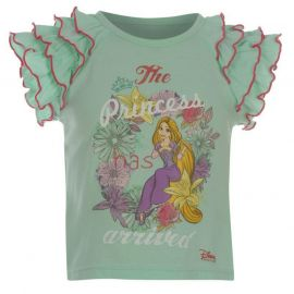 Disney Princess T Shirt Infant Girls Mint Green