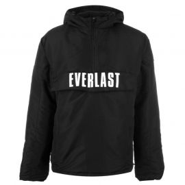 Everlast Quarter Zip Jacket Mens Black